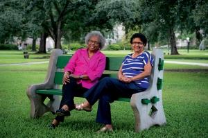 Pearlie Elloie  & Dr. Barbara G. Thompson